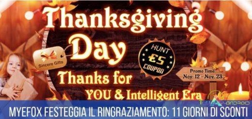 myefox ringraziamento sconti efoxshop thanksgiving