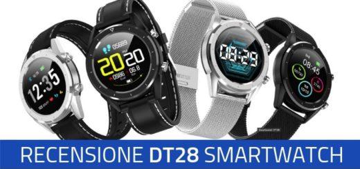 dt 28 smartwatch recensione