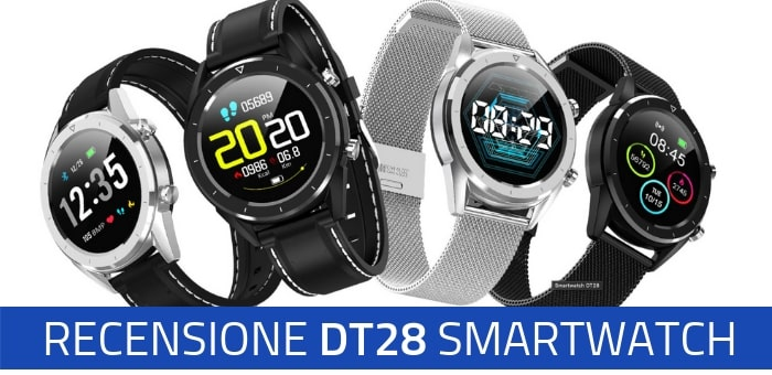 Photo of Recensione Smartwatch DT28 dell'azienda DT NO.1