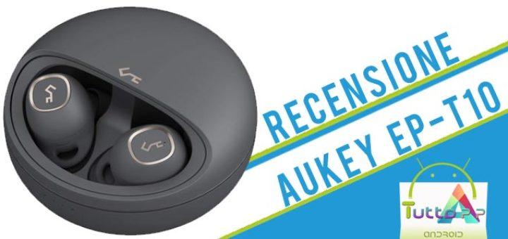 Recensione auricolari Aukey Ep-t10