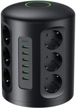 Migliori-caricabatterie-USB-aukey-multipresa-verticale