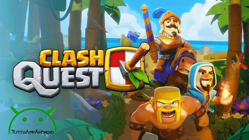 Come scaricare Clash Quest su Android tramite VPN o APK