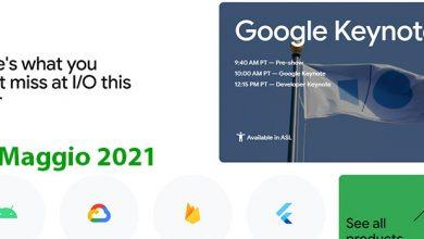 Photo of Google I/O 2021: Segui l'evento in diretta con noi