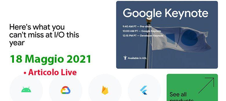 Photo of Diretta Google Keynote I/O 2021