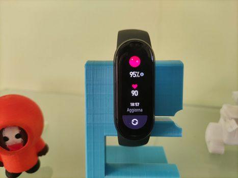 Recensione Xiaomi Mi Band 6 - SpO2 saturazione dell'ossigeno